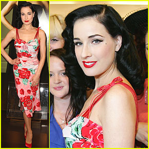 Dita Von Teese: Muse Launch in Australia!