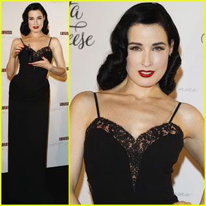 Dita Von Teese: Perfume Launch in Berlin!