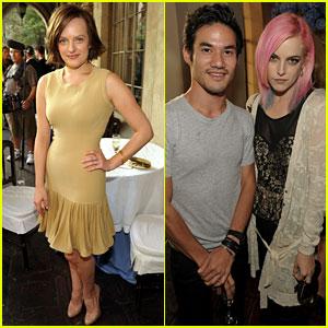 Elisabeth Moss: CFDA 'Vogue' Fashion Fund with Riley Keough!