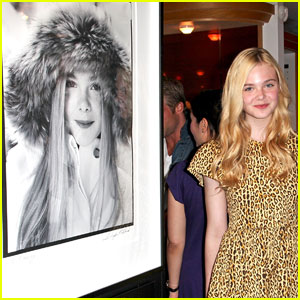Elle Fanning: Douglas Kirkland Photo Exhibition Party!