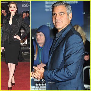 Evan Rachel Wood: 'Ides of March' London Premiere!