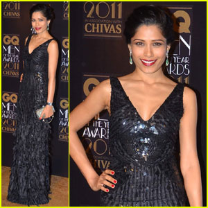 Freida Pinto: GQ Men of the Year Awards!
