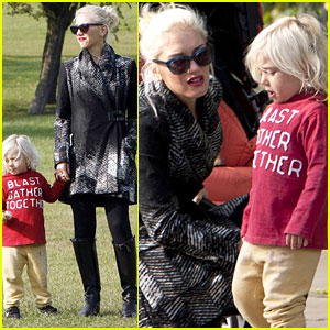 Gwen Stefani: Sunday with Zuma!