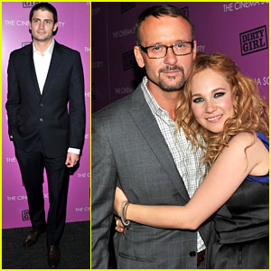 James Lafferty: 'Dirty Girl' Screening with Juno Temple & Tim McGraw!