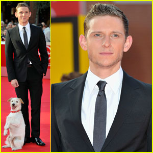 Jamie Bell Takes 'Adventures of Tintin' to Rome