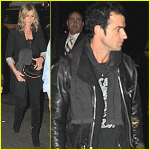 Jennifer Aniston & Justin Theroux: SNL After Party Pair