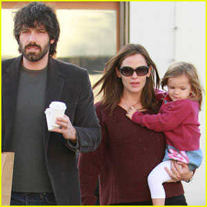 Jennifer Garner & Ben Affleck: Huckleberry with Seraphina!