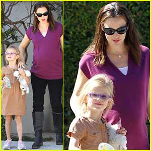 Jennifer Garner & Violet: Dentist Duo!