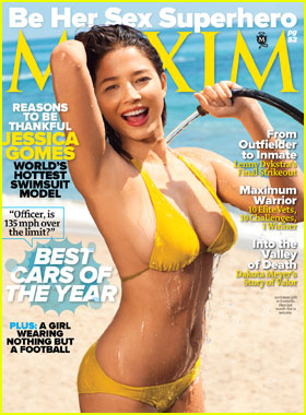 Jessica Gomes Covers 'Maxim' November 2011