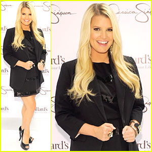 Jessica Simpson: Collection Launch in New Orleans!