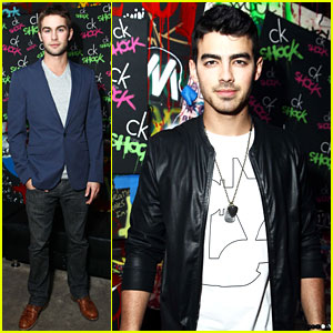 Joe Jonas & Chace Crawford: Ck One Shock Guys!