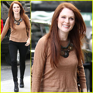 Julianne Moore: 'Best Friends Forever' on 'Today'!