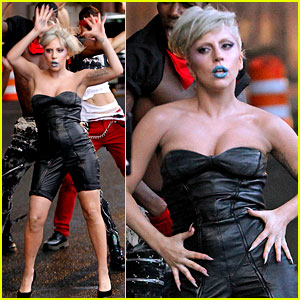 Lady Gaga: 'Marry The Night' First Look Pictures!