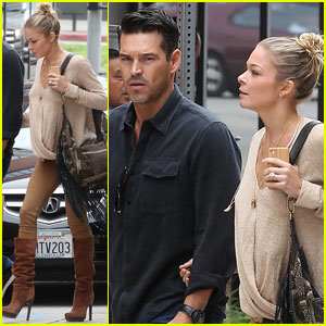 LeAnn Rimes & Eddie Cibrian: Coral Tree Cafe Couple