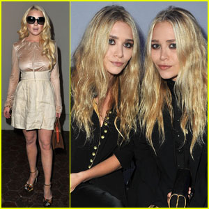 Lindsay Lohan & Olsen Twins: Dw by Kanye West Show!