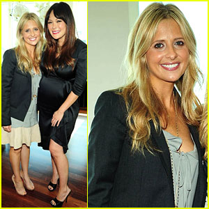 Sarah Michelle Gellar: Baby Shower for Lindsay Price!