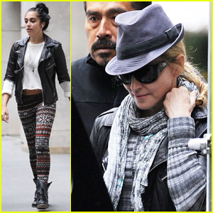 Madonna & Lourdes Give Each Other Fashion Tips
