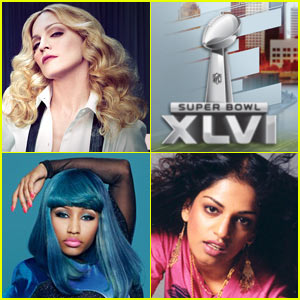 Madonna: 'Give Me All Your Love' Performance at Super Bowl with Nicki Minaj & M.I.A.
