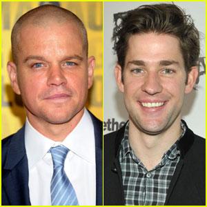 Matt Damon Set for Directorial Debut With John Krasinski