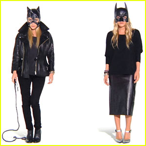 The Olsens Dress Up as Batman & Catwoman