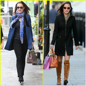 Pippa Middleton: Feeling Blue in London