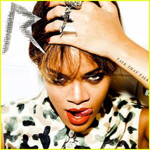 Rihanna: 'Talk That Talk' Cover Art Released!