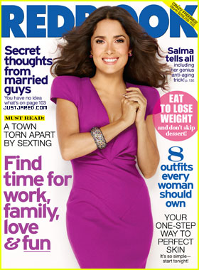 Salma Hayek Covers 'Redbook' November 2011