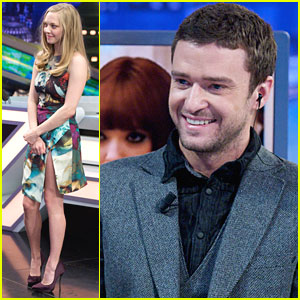 Justin Timberlake &#038; Amanda Seyfried: 'El Hormiguero' Visit!