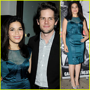 America Ferrera: 'Chicago' Press Night After Party!
