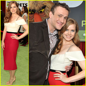 Amy Adams: 'Muppets' Premiere with Jason Segel!