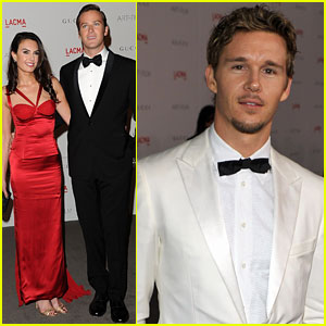 Armie Hammer: LACMA Gala with Ryan Kwanten!