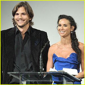 Ashton Kutcher Talks Demi Moore Divorce