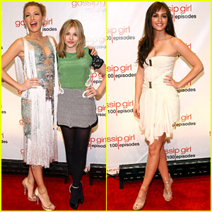 Blake Lively & Leighton Meester: 'Gossip Girl' 100th Episode Party!