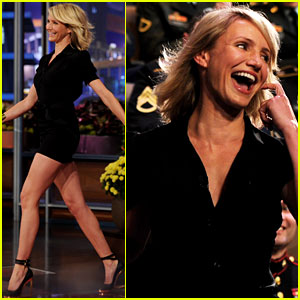 Cameron Diaz: Special 'Tonight Show' Appearance!