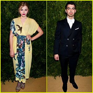 Chloe Moretz: CFDA/Vogue Fashion Fund Awards With Joe Jonas!