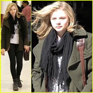 Chloe Moretz: Sunny LAX Arrival!