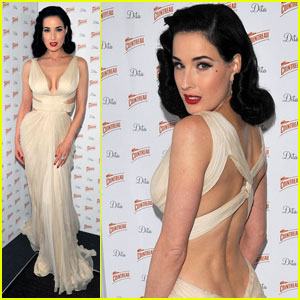 Dita Von Teese: Cointreau Prive Pop-Up Bar Launch!