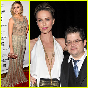 Elizabeth Olsen: Gotham Film Awards with Charlize Theron!