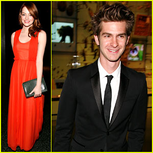 Emma Stone & Andrew Garfield: Natural History Museum Mates!