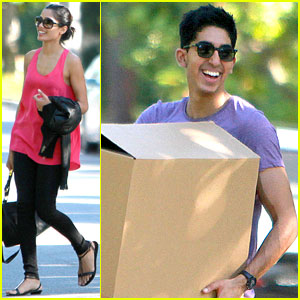 Freida Pinto & Dev Patel Move Into a Rental Home