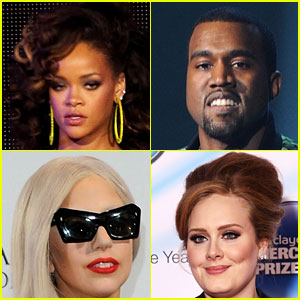 2012 Grammy Nominations Released!