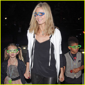 Heidi Klum: Katy Perry Concert With the Kids!