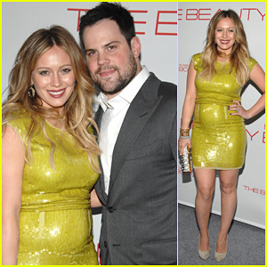 Hilary Duff: 'The Beauty Book' Launch Party with Mike Comrie!