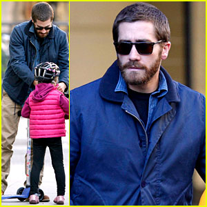 Jake Gyllenhaal Spends the Day with Niece Ramona