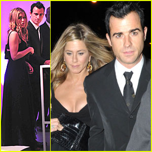 Jennifer Aniston & Justin Theroux Step Out in Style