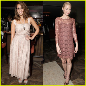 Jessica Alba & Jaime King: Swarovski Elements Dinner!