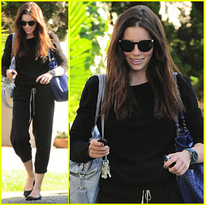 Jessica Biel Talks Staying in Shape