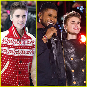 Justin Bieber: Christmas Concert Pics!
