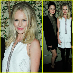 Kate Bosworth & Rachel Bilson: Vanessa Bruno Bash!