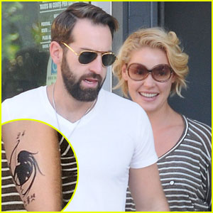 Josh Kelley: Tattoo for Katherine Heigl & Naleigh!